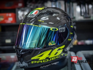 AGV PISTA GP R PROJECT 46 2.0 MATT CARBON