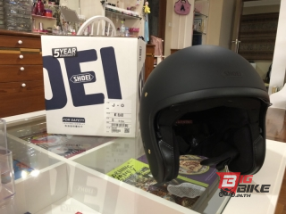 Shoei J.O. Matt Black